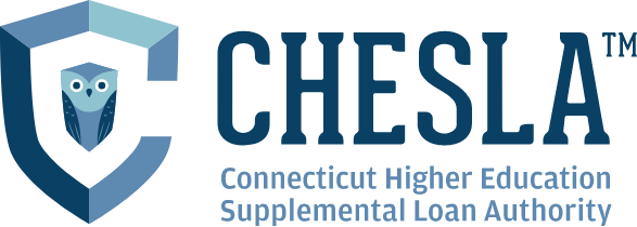 CHESLA Logo, representing Connecticut Higher Education Supplemental Loan Authority.